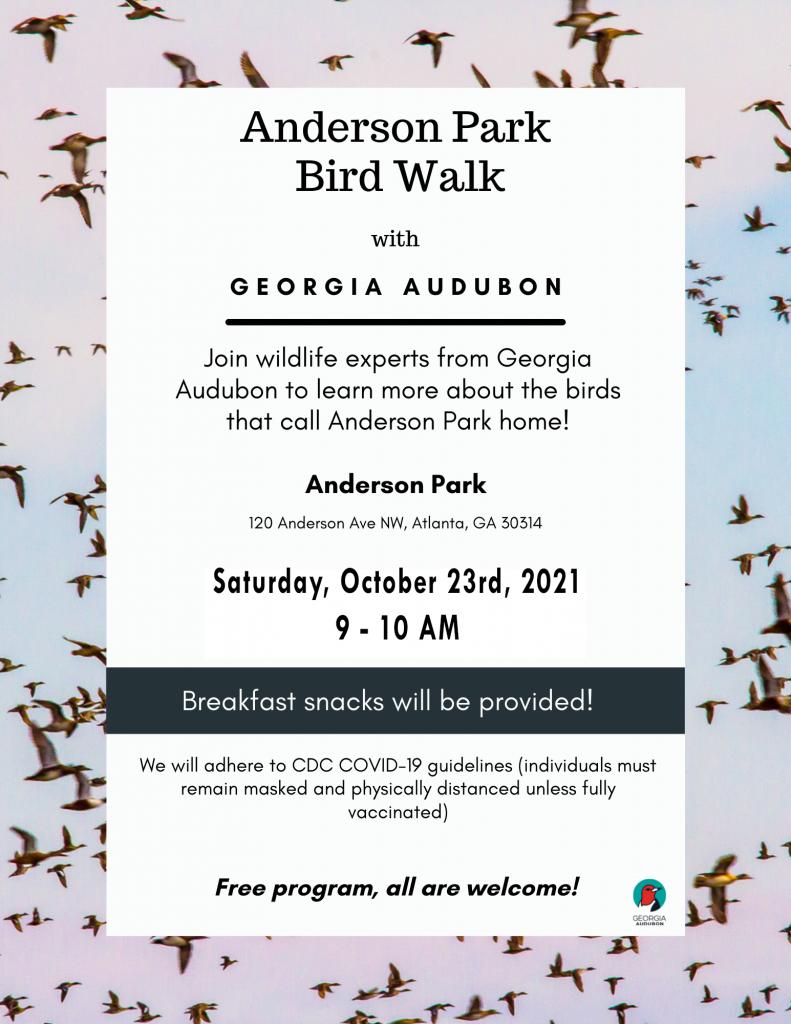 Anderson Park Bird Walk