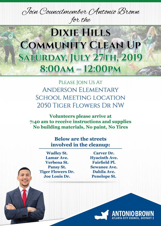 Community Clean Up - July 27, 2019