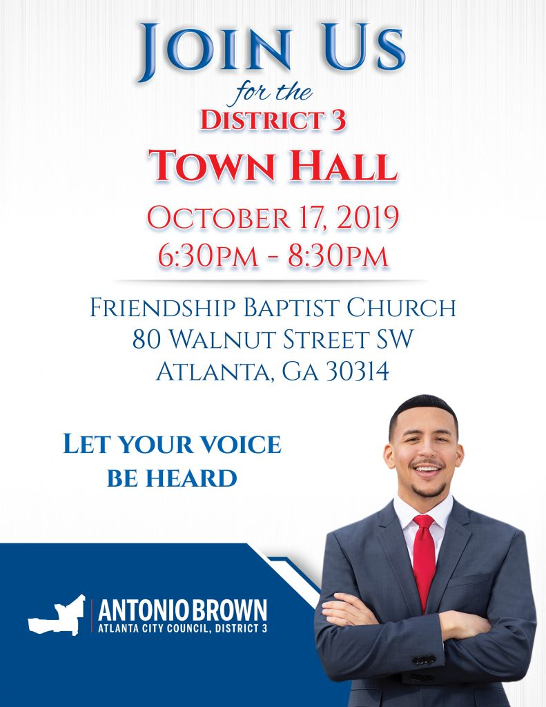 District 3 Town Hall