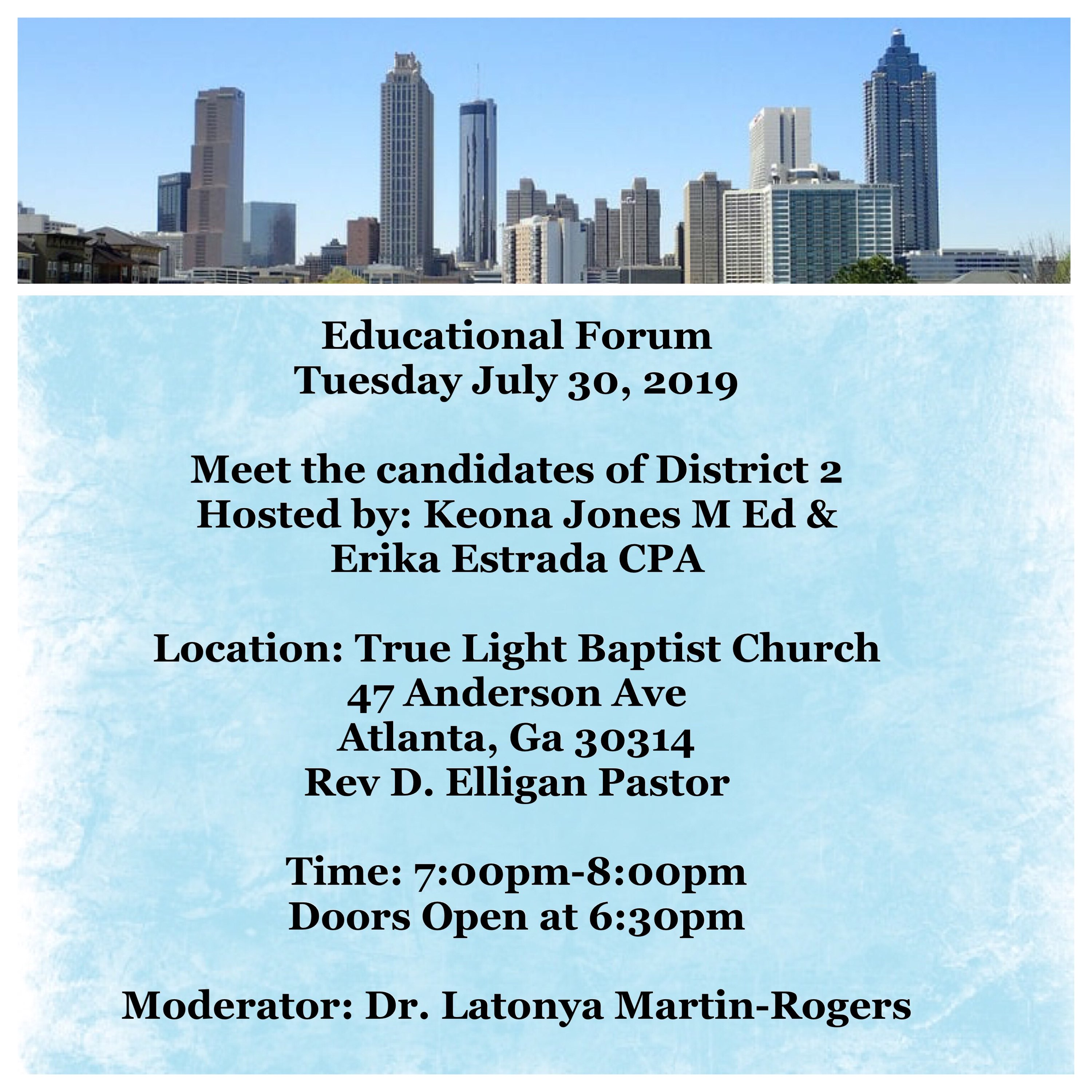Educational Forum - July 2019