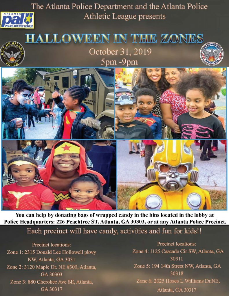 2019 PAL Halloween In The Zones