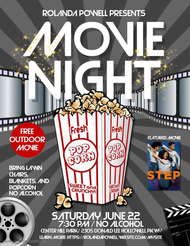 Rolanda Powell presents Movie Night - June 22